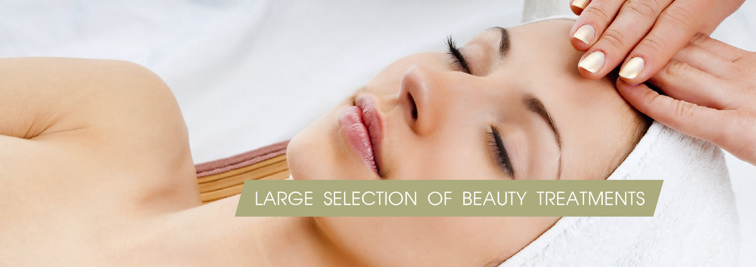 extensive range of treatments